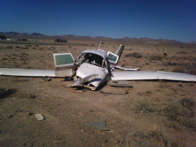 Yup. Same airplane at Tonopah, Nevada after its final flight on 17 Jun 2007.