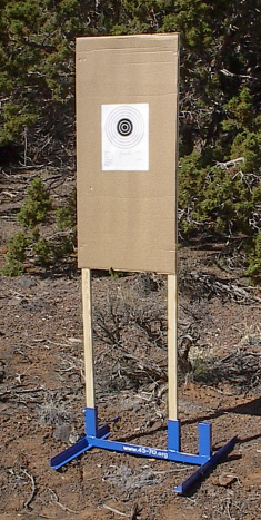 "18/24"" wide target stand"